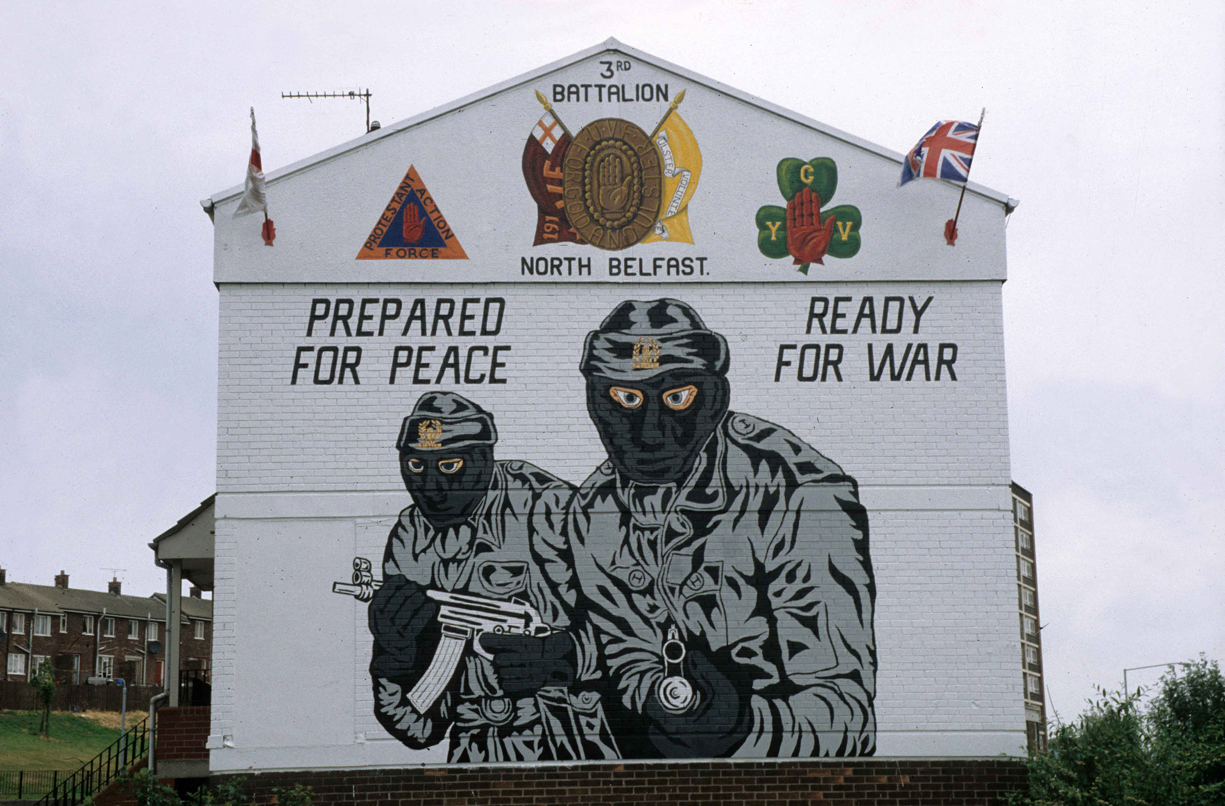 Painted Wall Murals Murals In The North Of Ireland Base